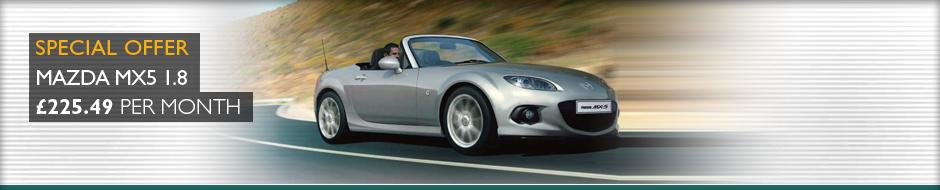 Mazda MX5 offer