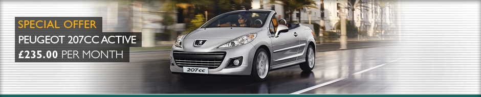 Peugeot 207CC Special offer