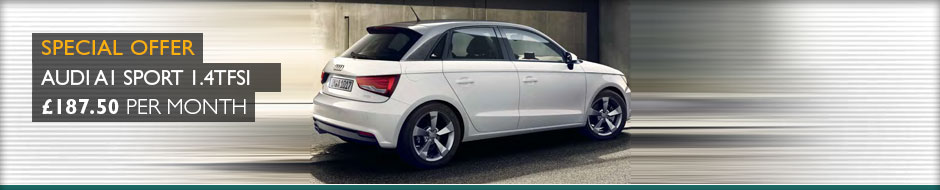 Audi A1 Sport 1.4TFSi 125ps Manual Sportback 5dr Leasing
