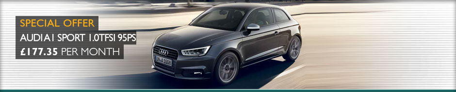 Audi A1 Sport 1.0TFSi 95ps Manual 3dr Leasing