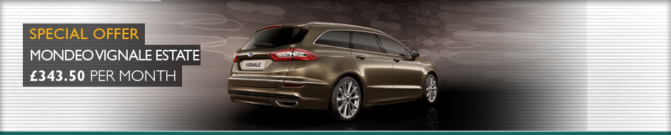 Mondeo Estate Leasing Offer