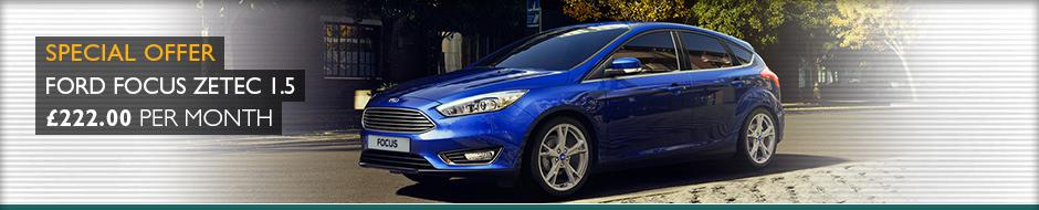 Ford Focus Zetec Special Offer