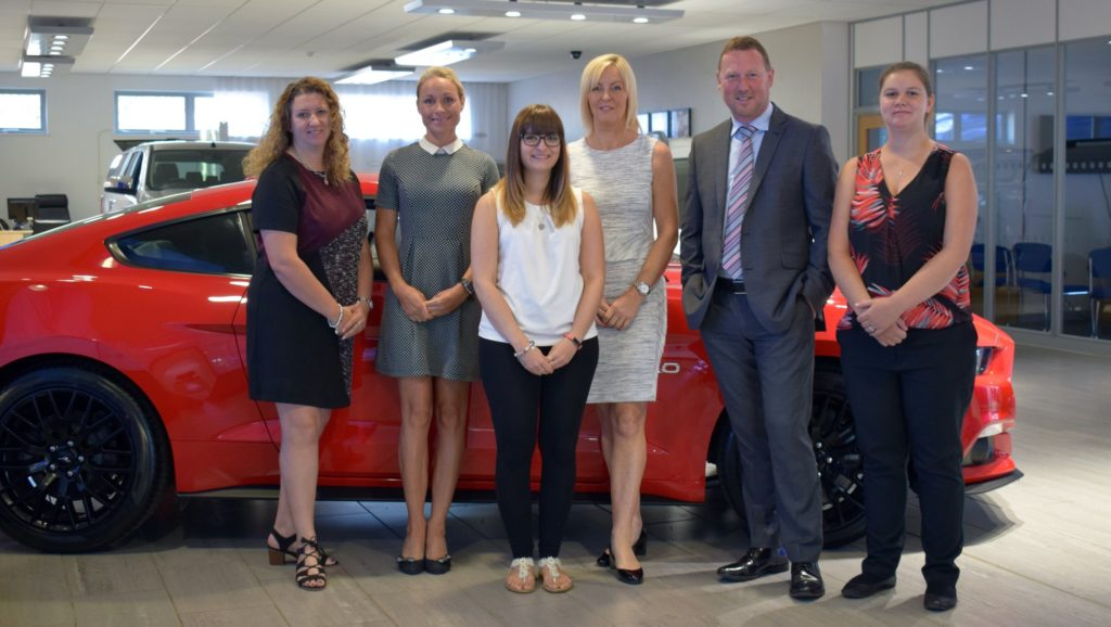 The Bussey Vehicle Leasing team