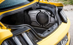 Ford Mustang Shaker Speakers