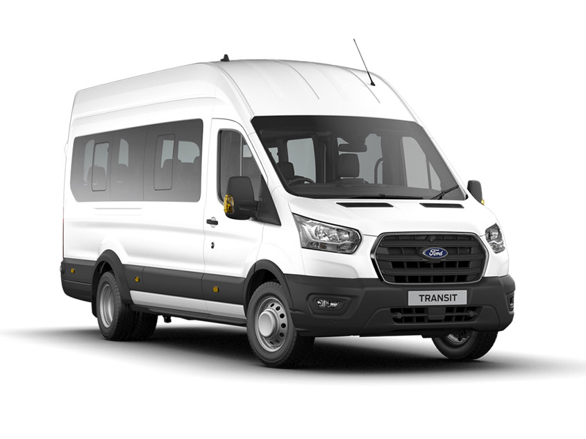 Ford Transit 460 L4 Minibus 2.0EcoBlue 130PS H3 17 Seater Leader Leasing offer